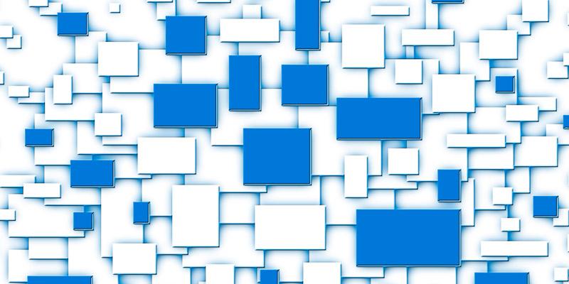 Organisasjon og endring - illustrasjon: collage av menneske sammensatt av fire fragmenter